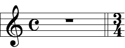 Courtesy Time Signature
