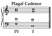 cadences - Early Music Sources
