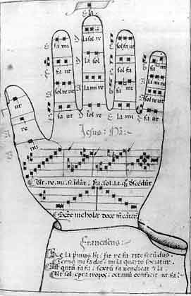 guido d arezzo music notation paper - photo#7