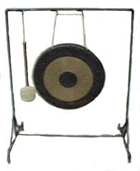 how to play gong instrument