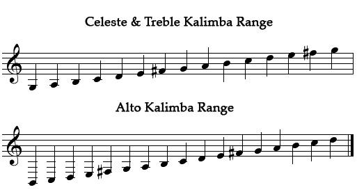 Kalimba_range