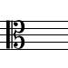 C-alto-clef