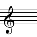 French violin clef