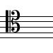 C-tenor-clef